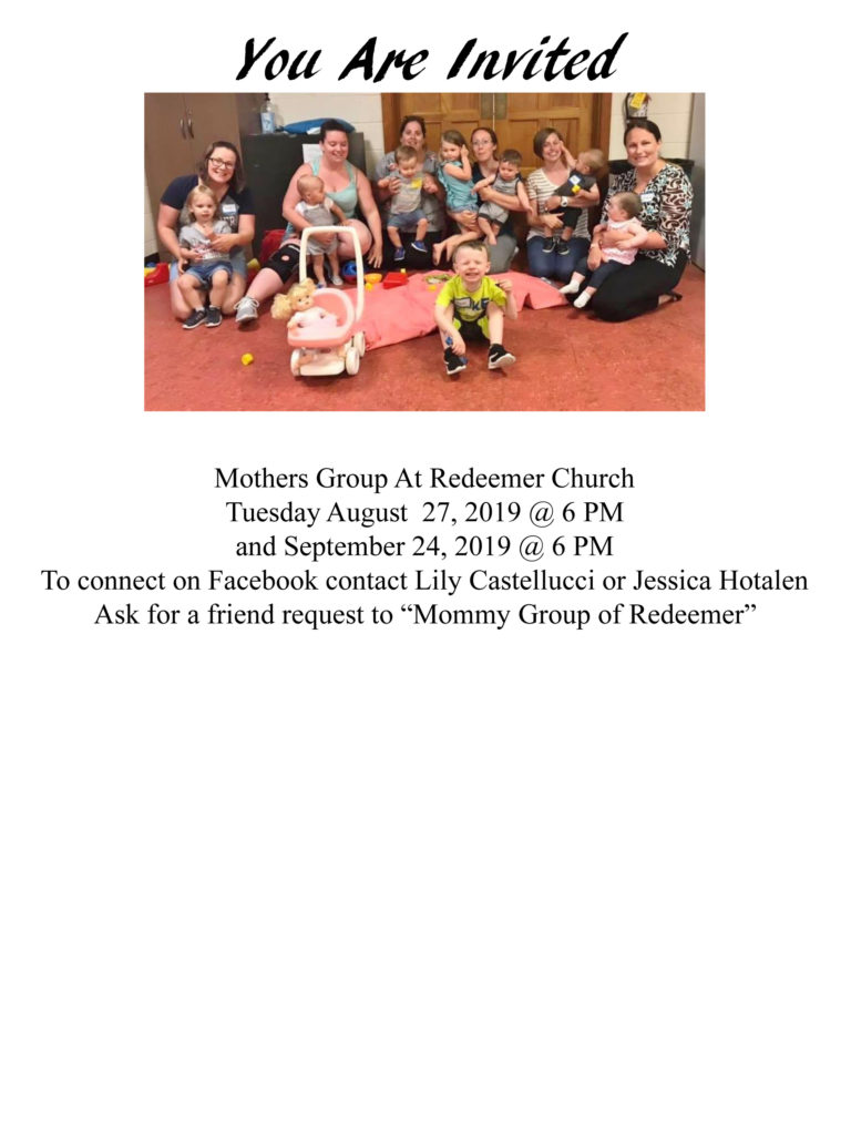 Mothers Group Invitation